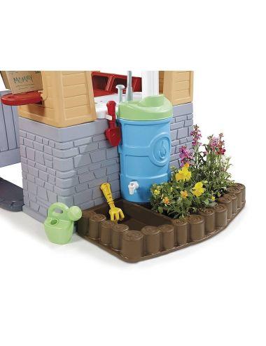 Domek Piknikowy z Patio i magicznym dzwonkiem Little Tikes
