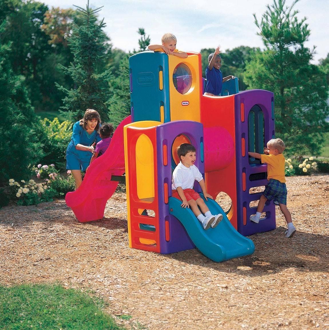 Plac Zabaw Zjeżdżalnia dla dzieci Little Tikes Olbrzymi dzieci