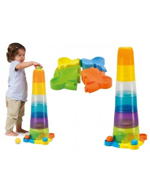 WIEŻA Z PIŁECZKAMI Sorter Piramida Smily Play
