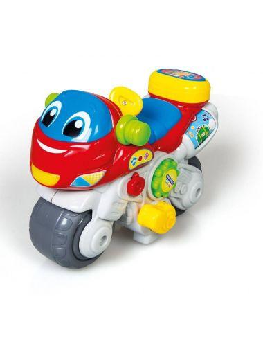 Clementoni MOTOR Interaktywny Mówiący Motorbike Mówi PL-ANG