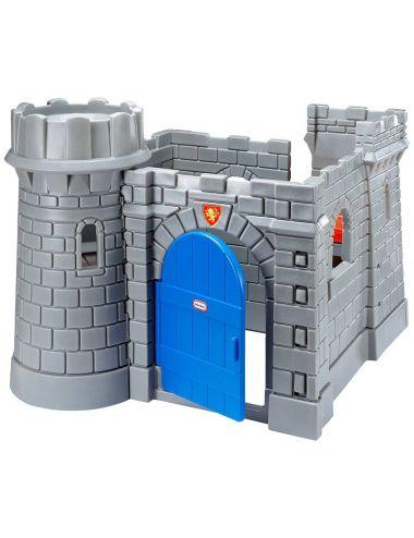 Klasyczny zamek ze zjeżdżalnią Little Tikes