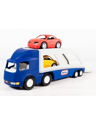 Little Tikes LAWETA z Dwoma Samochodami Niebieska