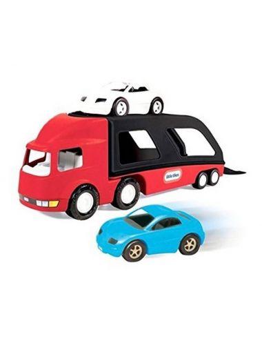 Laweta czerwona i 2 samochody - Little Tikes