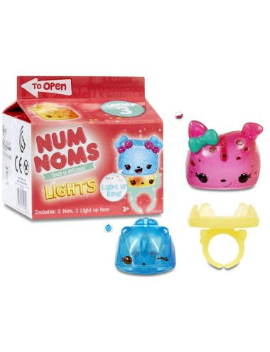 Num noms lights świecące pierścionki seria 3