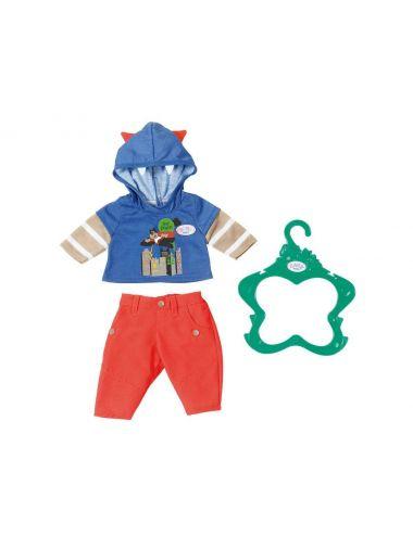 Baby Born ubranko dla chłopca braciszka niebieskie Zapf Creation