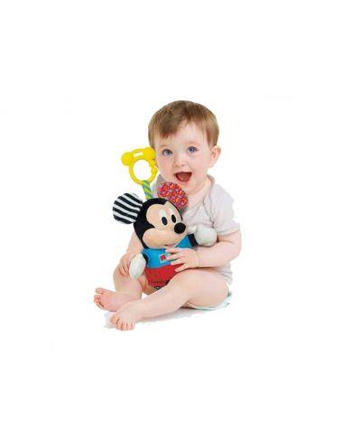 Baby Clementoni GRZECHOTKA Pluszak Myszka Miki Mickey Minnie