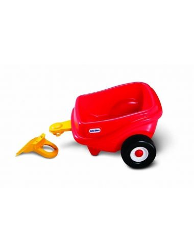 Little Tikes PRZYCZEPA Cozy Coupe Samochód Przyczepka Czerwona