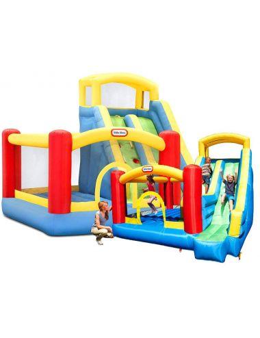 Little Tikes dmuchany plac zabaw i zjeżdżalnia ogromny 173400