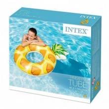 Intex koło do pływania ananas 117 x 86cm