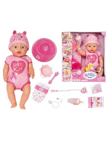 Baby Born lalka interaktywna dziewczynka soft touch