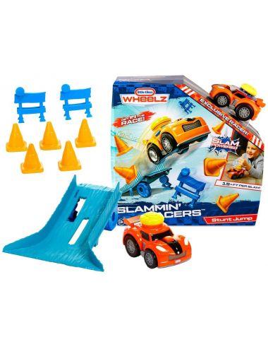 Little Tikes SAMOCHÓD Slammin Racers Stunt Jump Auto Wyścigowe