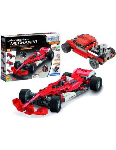 Clementoni LABORATORIUM MECHANIKI Samochód Wyścigowy Formuła 1