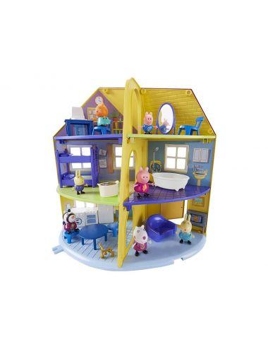 ŚWINKA PEPPA Domek Rodzinny + Figurka Świnki Peppy