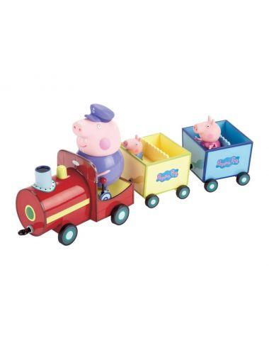 ŚWINKA PEPPA Pociąg Peppy + Figurki TM Toys