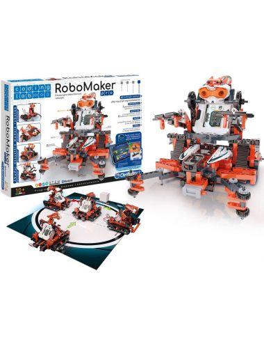 Clementoni ROBOMAKER Laboratorium Robotyki Zestaw 5w1 Roboty