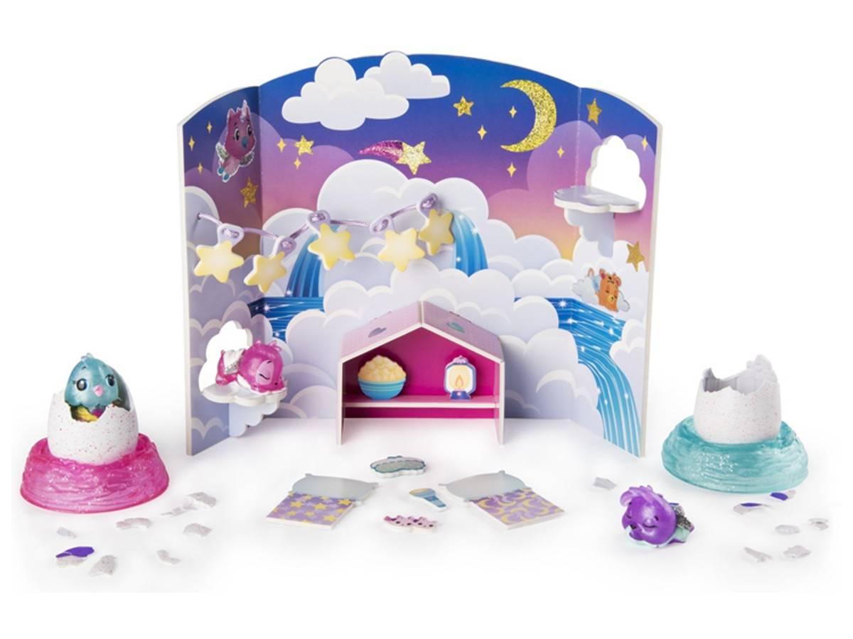Hatchimals piżamowe party 3 figurki Spin Master