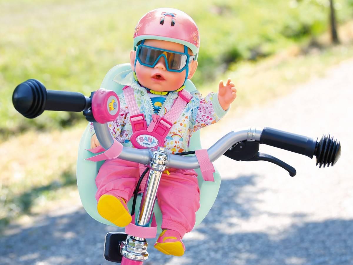 Baby Born fotelik krzesełko na rower