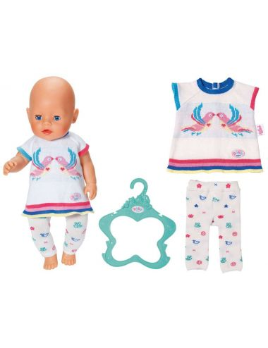 Baby Born Sweterek z Rajstopkami Zestaw Dla Lalki 43cm Zapf Creation