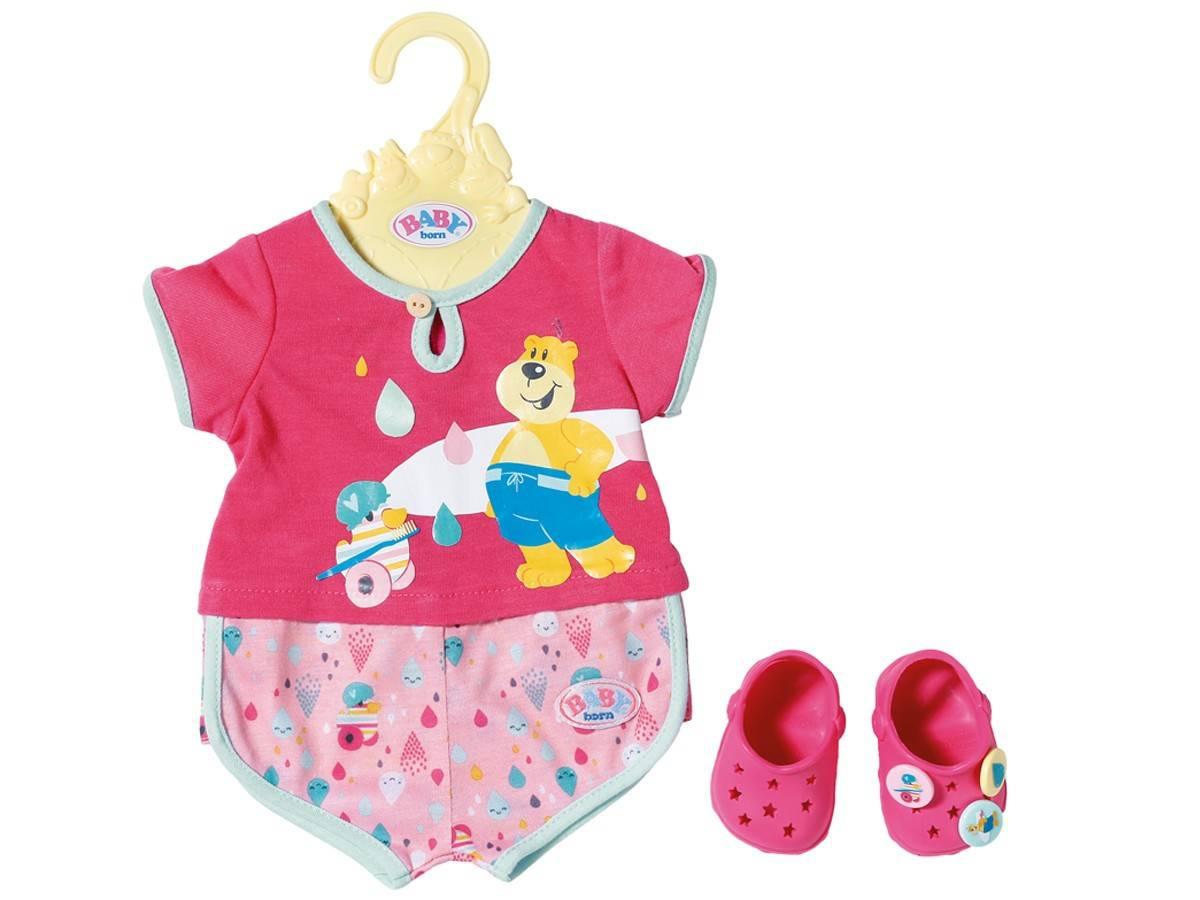 Baby Born piżama, crocs