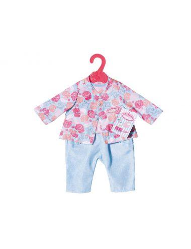 Baby Annabell Ubranko Podróżne dla Lalki Turkus 701973 B