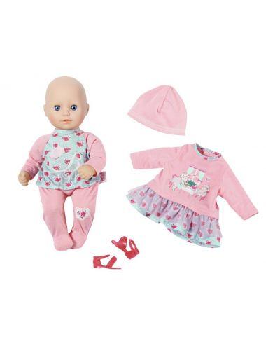 Baby Annabell lalka 36cm śpiąca laleczka ubranka
