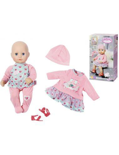Baby Annabell Lalka 36cm z Sukienką Śpiąca laleczka Ubranka 702109