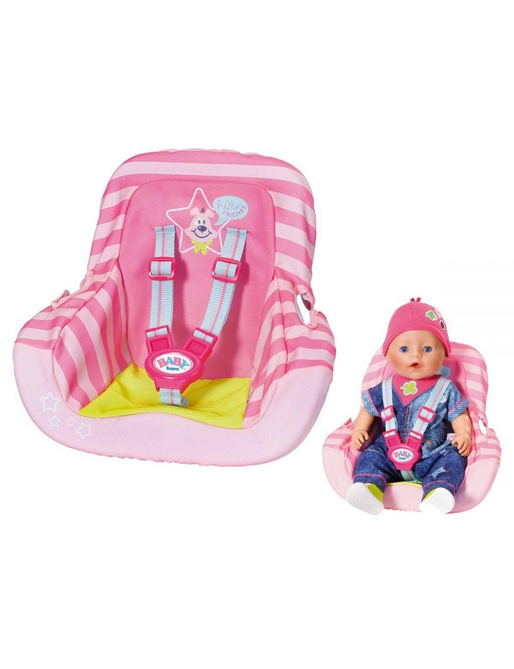 Baby Born Fotelik Samochodowy Krzesełko Dla Lalki Zapf Creation