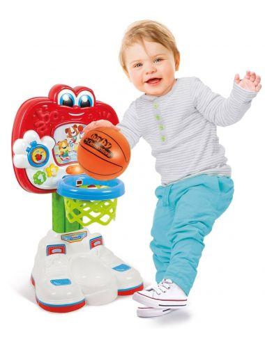 Clementoni interaktywna mówiąca koszykówka z piłką