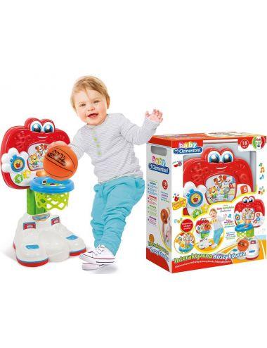 Baby Clementoni KOSZYKÓWKA Interaktywna Mówiąca Piłka do Kosza