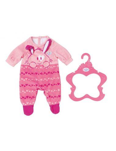 Baby Born różowa Piżamka z Misiem dla lalki Ubranko Śpioszki 824566