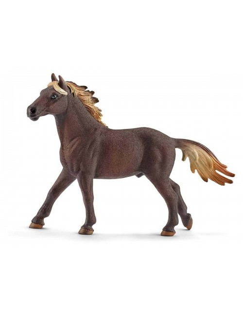 Schleich 13805 ogier rasy Mustang