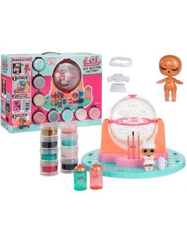LOL Surprise fabryka dla laleczek lalek Glitter Factory DIY L.O.L.