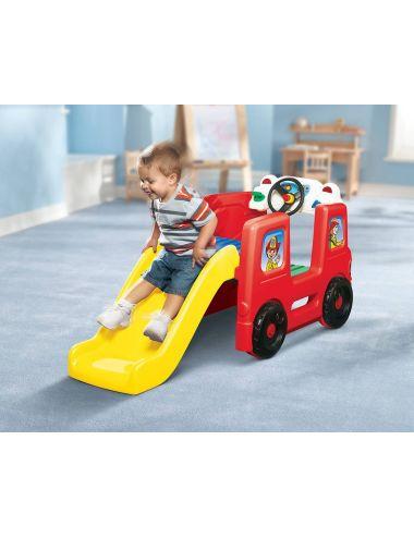 LITTLE TIKES Plac zabaw Wóz Strażacki Zjeżdżalnia