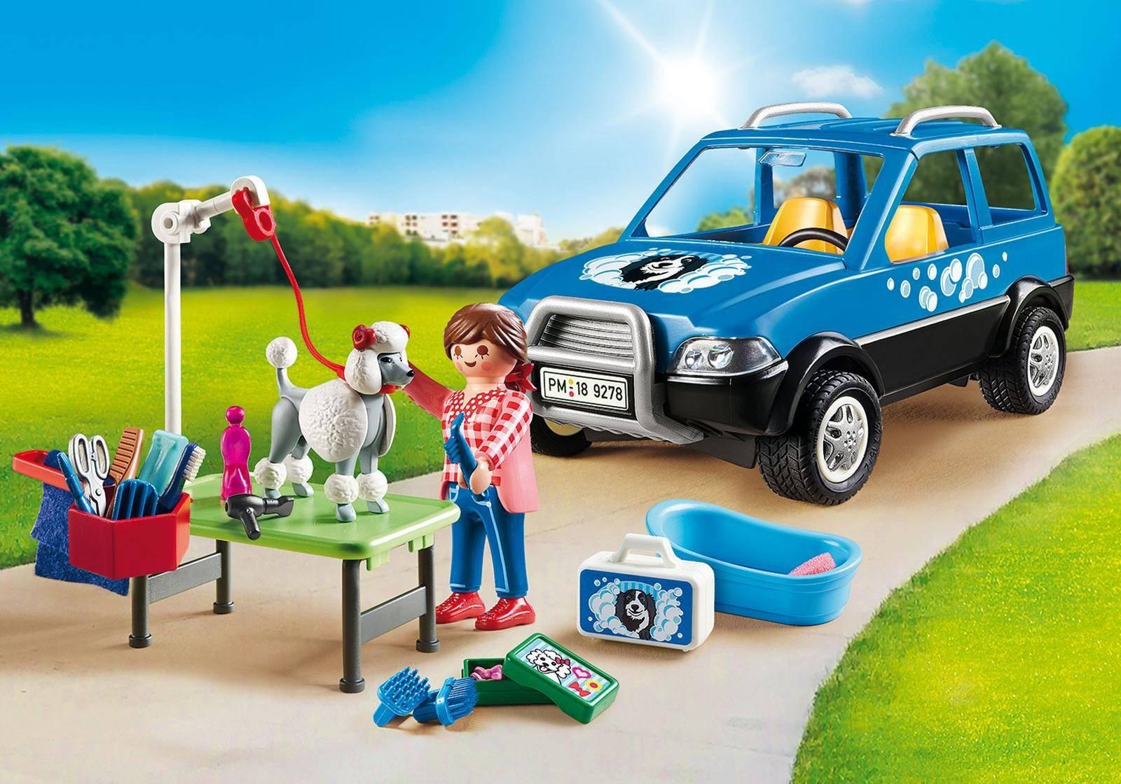 Playmobil Mobilny Salon dla Psów Klocki 9278
