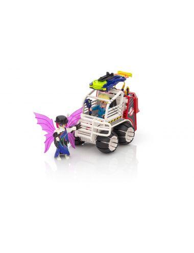 PLAYMOBIL 9386 Spengler z pojazdem klatką