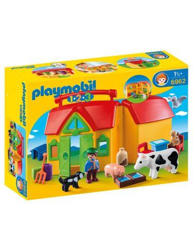 PLAYMOBIL 6962 Moje przenośne gospodarstwo rolne