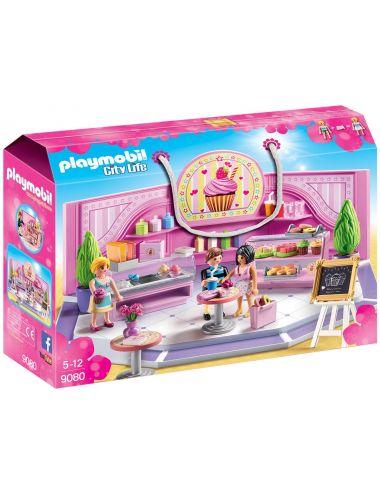 PLAYMOBIL 9080 KLOCKI Kawiarnia Cupcake FIGURKI