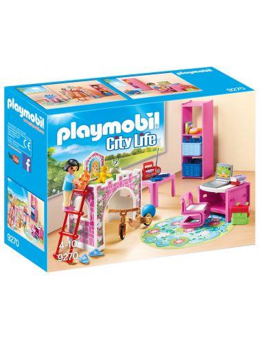 PLAYMOBIL 9270 KLOCKI Kolorowy pokój dziecięcy FIGURKI
