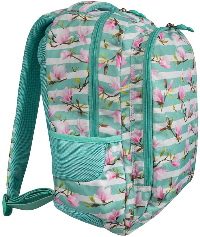ST.RIGHT plecak szkolny kwiaty magnolii BP47