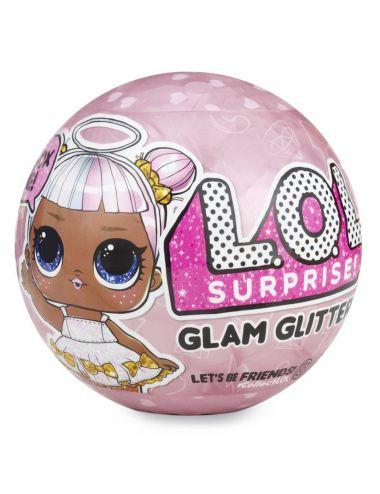 LOL Surprise Glam Brokatowa Laleczka L.O.L. Glitter Kula MGA 555605