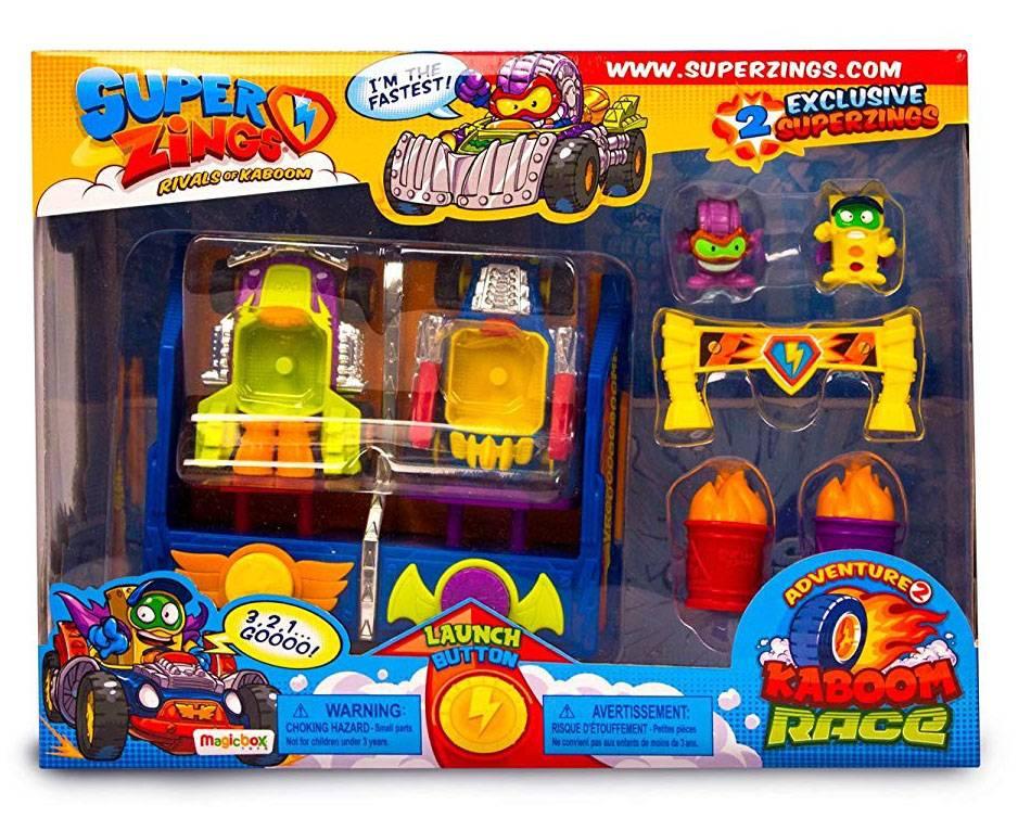 Super Zings kaboom race pudełko
