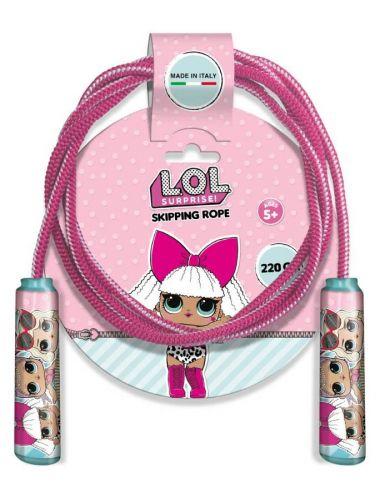 LOL Surprise skakanka L.O.L. 220 cm Dla Dzieci Różowa