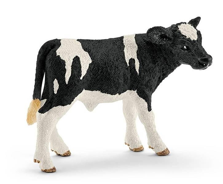 Schleich 13798 Cielę Rasy Holstein
