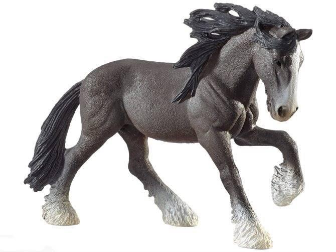 SCHLEICH 13734 koń rasy Shire
