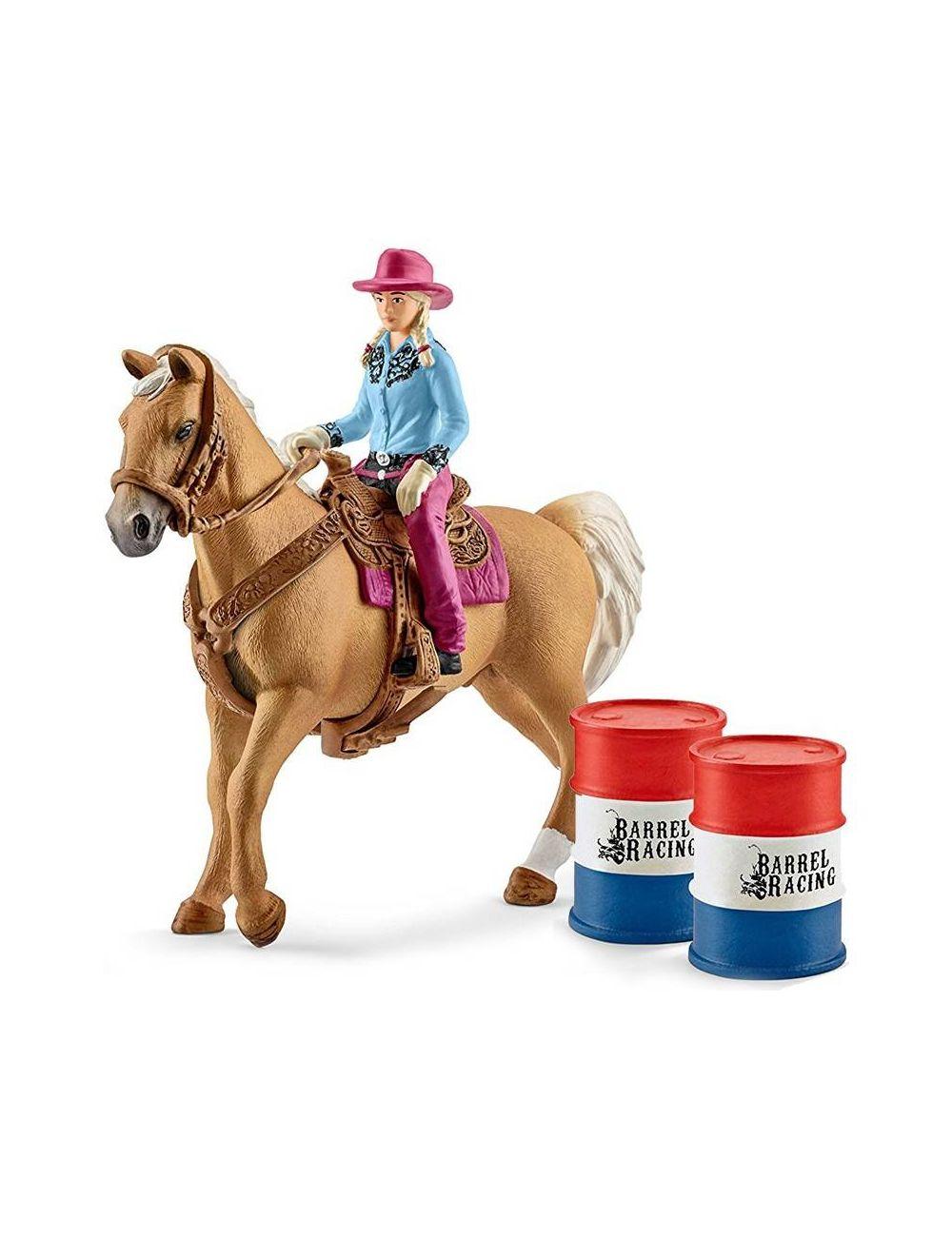 Schleich 41417 Kowboj w Wyściugu przez beczki