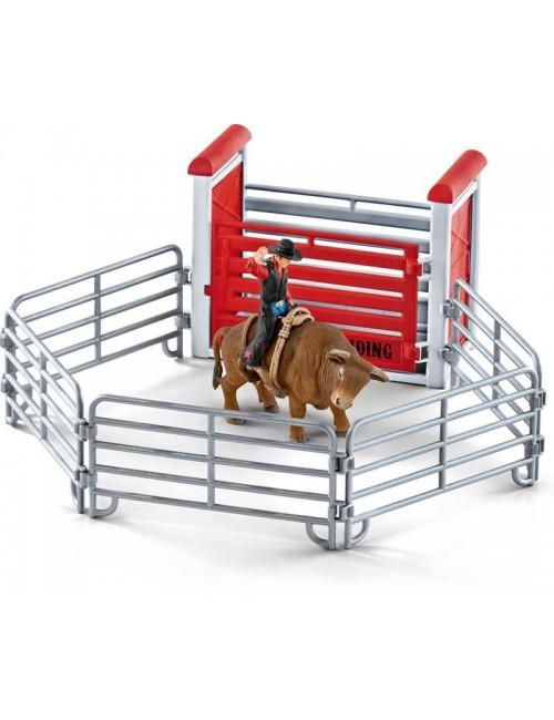 Schleich 41419 kowboj Ujeżdżający byka