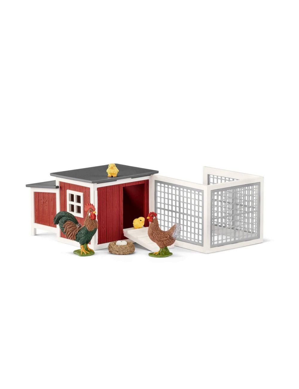 Schleich 42421 Klatka dla Kurczaków