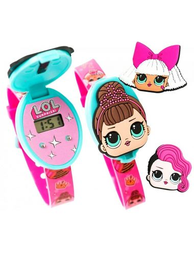 LOL Surprise Zegarek Na Rękę L.O.L. z Klapką DI2268 MGA