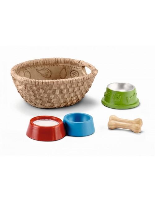 Schleich 42293 Jedzenie dla psów i kotów