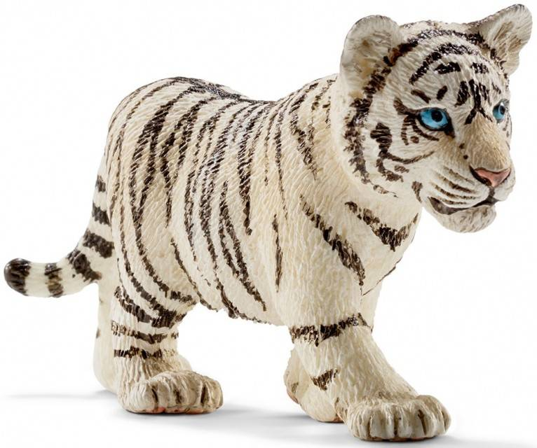 biały tygrys schleich